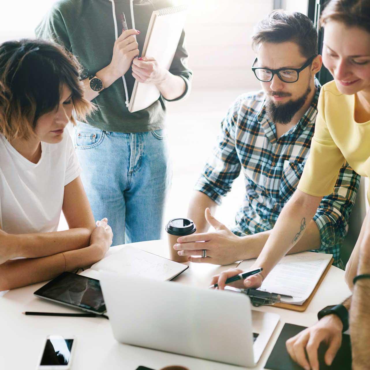 Gestalten Sie Ihr Unternehmen neu, agile Kultur- und Organisationsentwicklung